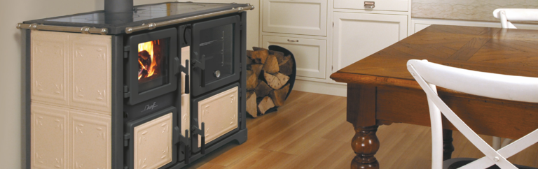 Bosky wood stove by Thermorossi