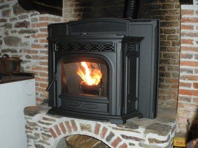 Poêle à granulés / Pellet stove