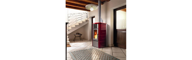 Mixed wood and pellet stove